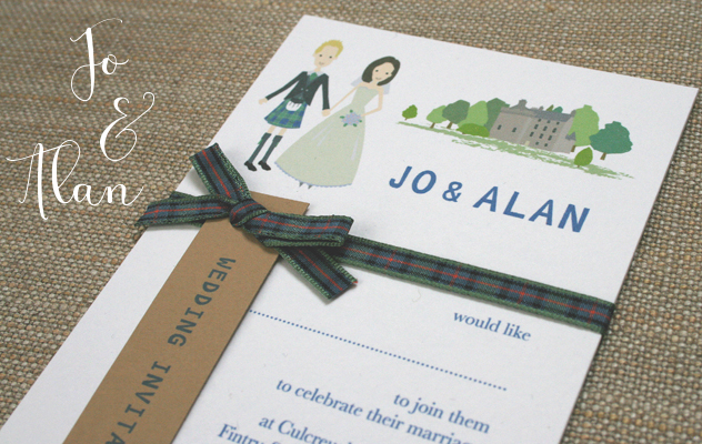 Bespoke handmade wedding stationery commission your own design